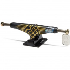 Thunder 24K Sonora Hollow Lights Skateboard Truck - Black/Black - 148mm