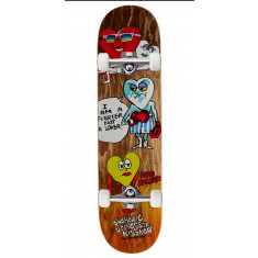 Krooked Worrest The Heart Skateboard Complete - 8.06""