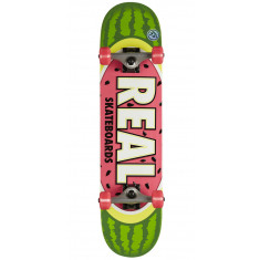 Real Team Watermelon Small Skateboard Complete - 7.50""