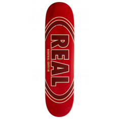 Real Ovalduo Fade Pp Skateboard Deck - Red - 8.06""