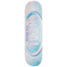 Real Kyle Watercolor Pro Oval Skateboard Deck - 8.38""