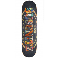 Real Busenitz Cut And Paste Pro Oval Skateboard Deck - 8.25""