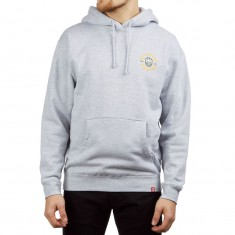Spitfire Bighead Classic Hoodie - Grey Heahter/Gold/Olive