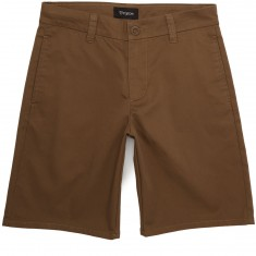 Brixton Carter Chino Shorts - Dark Khaki