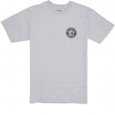 Brixton Rival II T-Shirt - Heather Grey