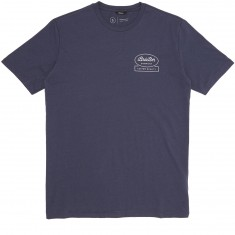 Brixton Dale T-Shirt - Steel Blue