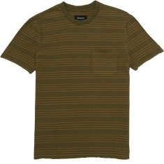 Brixton Hilt Washed Pocket T-Shirt - Olive