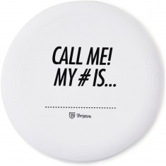 Brixton Call Me Disc - White