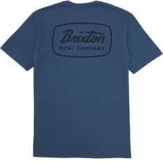 Brixton Jolt T-Shirt - Deep Blue