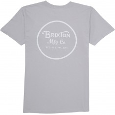 Brixton Wheeler II T-Shirt - Grey/White
