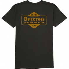 Brixton Crowich T-Shirt - Washed Black