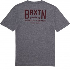 Brixton Langley T-Shirt - Heather Grey