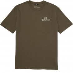 Brixton Tanka Pocket T-Shirt - Graphite