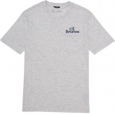 Brixton Tanka Pocket T-Shirt - Heather Stone