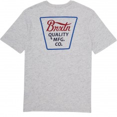 Brixton Portrero T-Shirt - Heather Stone