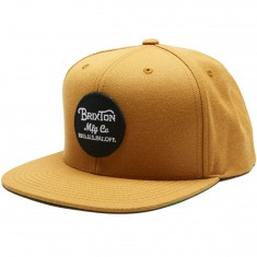Brixton Wheeler Snapback Hat - Copper