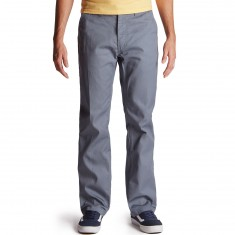 Brixton Fleet Rigid Carpenter Pants - Grey/Blue