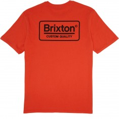 Brixton Palmer T-Shirt - Orange