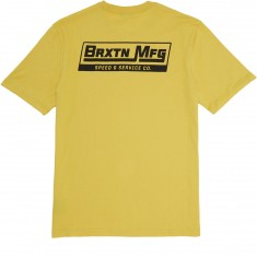 Brixton Traction T-Shirt - Washed Yellow