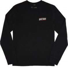 Brixton Times Longsleeve T-Shirt - Washed Black