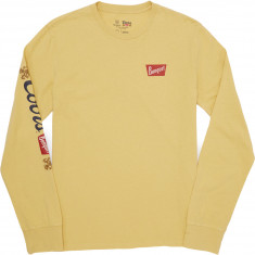 Brixton X Coors Primary Long Sleeve Premium T-Shirt - Buff