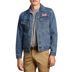 Brixton X Coors Cable Jacket - Washed Indigo