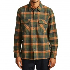 Brixton Archie Shirt - Green Plaid