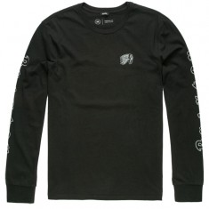 Brixton Primo Premium Long Sleeve T-Shirt - Black/Grey
