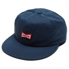Brixton Missouri Hat - Washed Navy