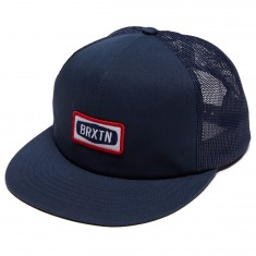 Brixton Rockford Mesh Hat - Light Navy