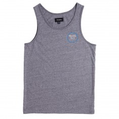 Brixton Wheeler Tank Top - Heather Grey/Royal