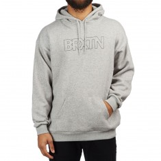 Brixton Edison Hoodie - Heather Grey