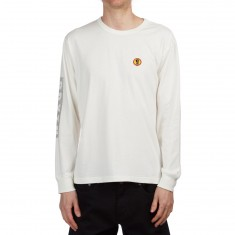 Brixton Fang Longsleeve Shirt - Off White