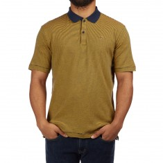 Brixton Johnston Polo Shirt - Navy/Gold