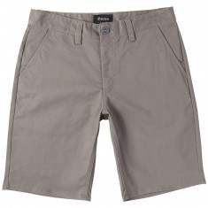 Brixton Toil II Hemmed Shorts - Grey