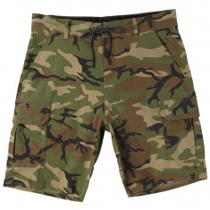 Brixton Transport Cargo Shorts - Multi Camo