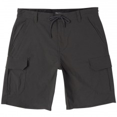 Brixton Transport Cargo Shorts - Washed Black