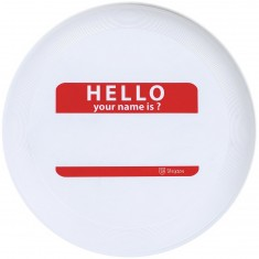 Brixton Hello Disc - White