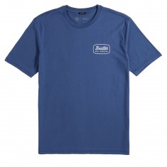 Brixton Jolt T-Shirt - Deep Blue/White