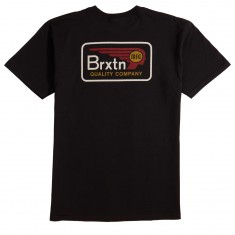 Brixton Messenger T-Shirt - Black