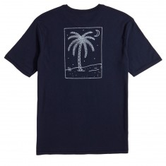 Brixton Oasis Pocket T-Shirt - Navy