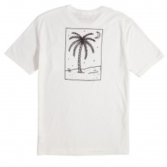 Brixton Oasis Pocket T-Shirt - Off White
