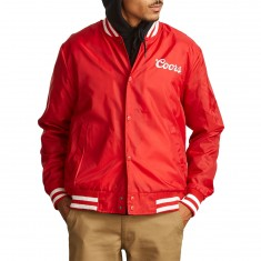 Brixton X Coors Signature Jacket - Red/White