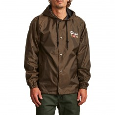 Brixton X Coors Primary Jacket - Brown