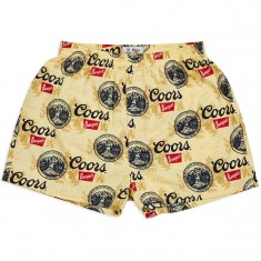 Brixton X Coors Filtered 2pk Boxer Underwear - Buff