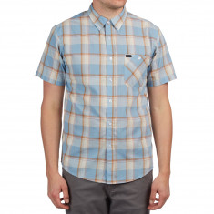 Brixton Howl Shirt - Light Blue/White