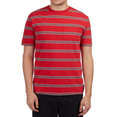 Brixton Hilt Pocket Shirt - Red/Black
