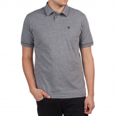 Brixton Carlos Polo Knit Shirt - Heather Grey