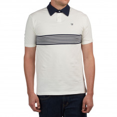 Brixton Tipton Polo Shirt - Off White