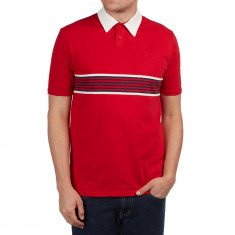Brixton Tipton Polo Shirt - Red